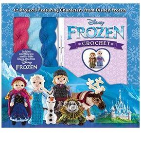 Disney frozen crochet 12 characters